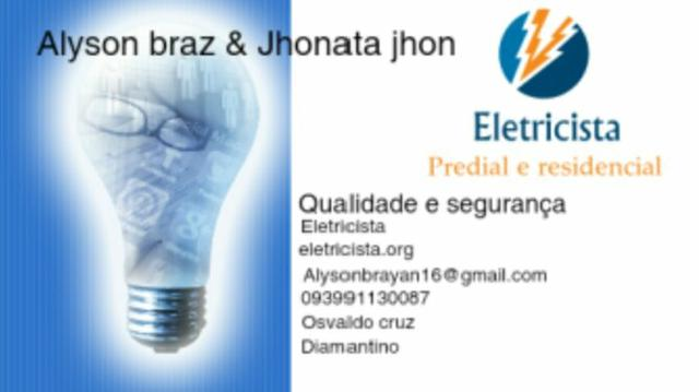 Eletricista residencial predial e comercial