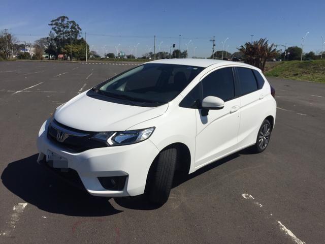 New Fit Ex 2015 Automático Bx Km Placa I   2015
