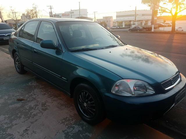 Honda Civic Lx 1.6 Completo 1998 R$ 9.999