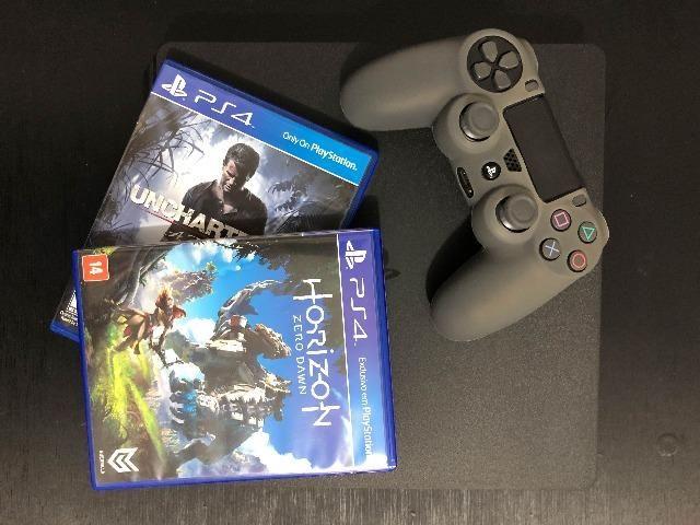 PS4 Slim 1TB + Red Dead 2 + Horizon Zero Dawn + Uncharted 4