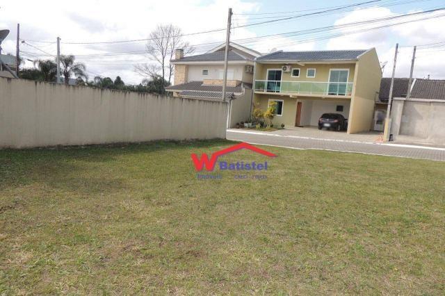 Terreno à venda, 202 m² rua maiorca, 104 - santa terezinha - colombo/pr - Foto 10