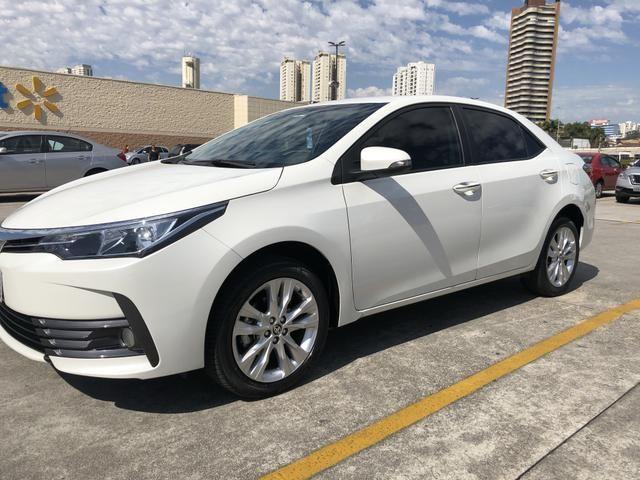 Toyota Corolla Xei Branco Pérola 2018