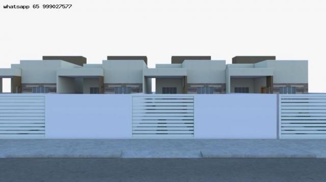 Casa para venda em várzea grande, paiaguas, 2 dormitórios, 1 suíte, 2 banheiros, 2 vagas - Foto 16