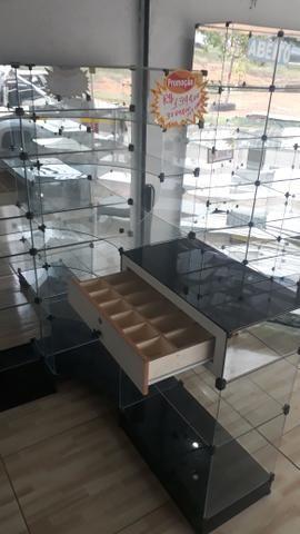 Prateleira ou balcão caixa de vidro - Foto 3