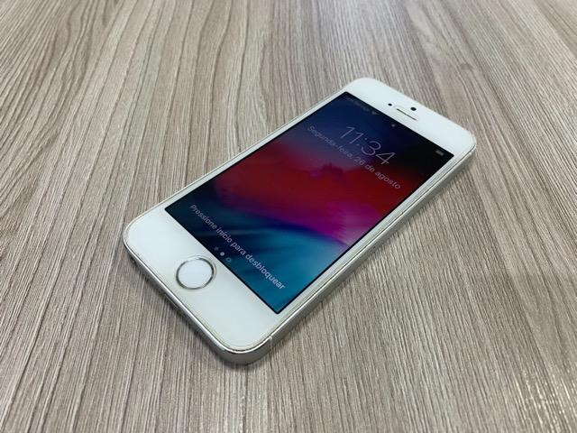 IPhone 5s Prata 32 Gb Em Ótimo Estado - Foto 2