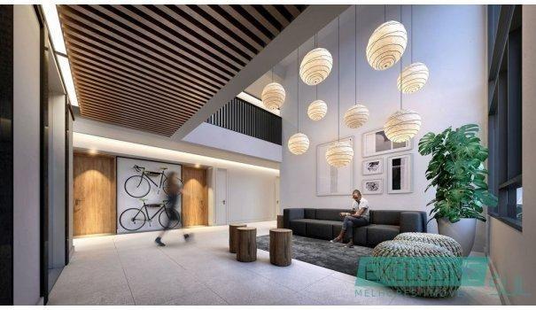 Flow residencial no Parque Una.  Unidade studio com 34 m² em edifício moderno. - Foto 4