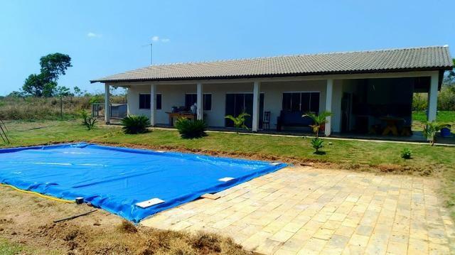 Sítio de 29 hectares com piscicultura formada em Alexânia-GO - Foto 2