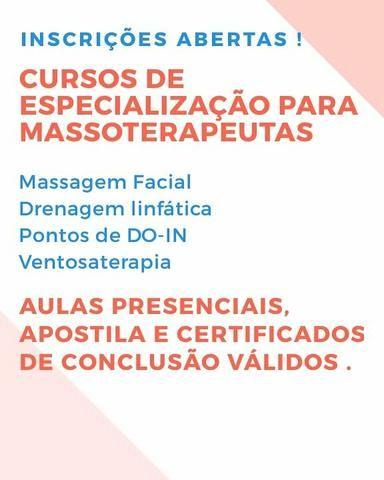 Especialização para Massoterapeutas