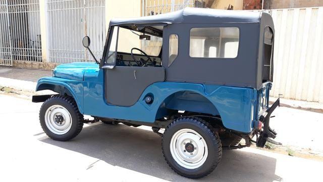 Jeep Willys 1957, há mais de 25 anos guardado duvido outro igual - Foto 3