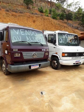 Caminhão com cabine suplementar