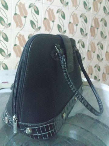 Bolsa de mão semi nova linda vendo - Foto 3