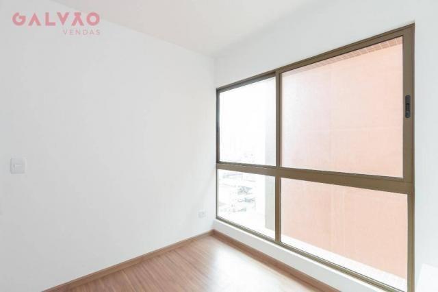 Apartamento com 1 dormitório à venda, 33 m² por R$ 238.156,90 - Centro - Curitiba/PR - Foto 9