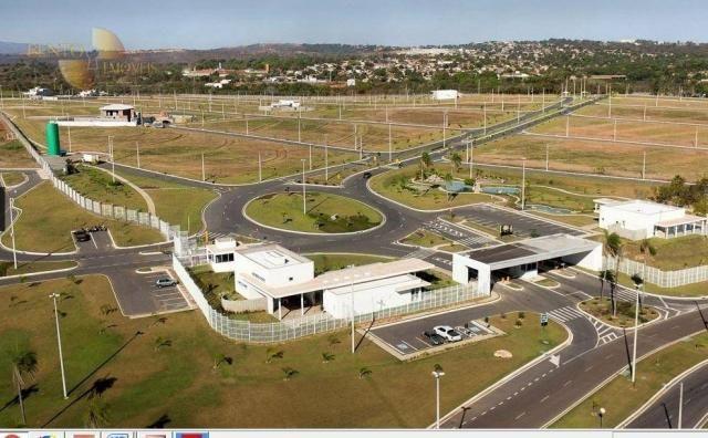 Florais do Valle - Terreno à venda, 565 m² por R$ 330. - Condomínio Florais Cuiabá Residen - Foto 5