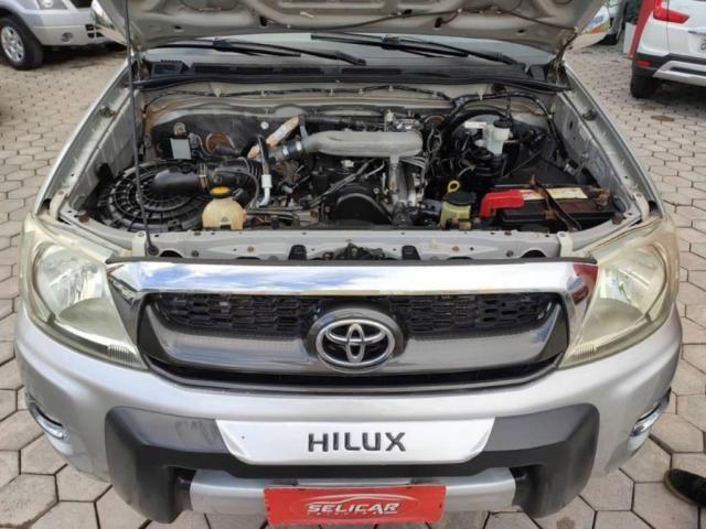 Toyota Hilux 2.5 CABINE DUPLA 4X4 2010  - Foto 13