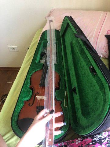 Violino giannini 3/4 novo - Foto 3