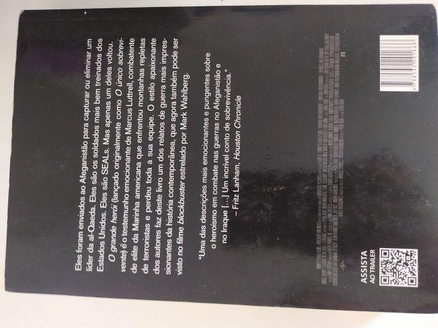 Livro O GRANDE HERÓI - Marcus Luttrell com Patrick Robinson - Foto 2
