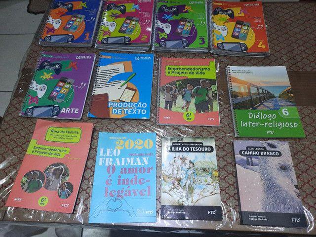 Livros ftd sexto ano ensino fundamental -trilhas - esic - Foto 5