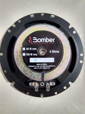 Par Alto Falantes Bomber Upgrade 6 Pol 120w Rms - Foto 4