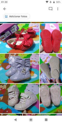 Calçados Bebê Menina 17 ao 21 - Foto 6