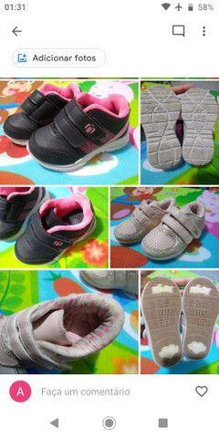 Calçados Bebê Menina 17 ao 21 - Foto 5