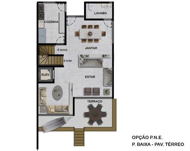 VM-Lançamento de casas no Poço da Panela 258m² com jardins conceito moderno - Foto 3