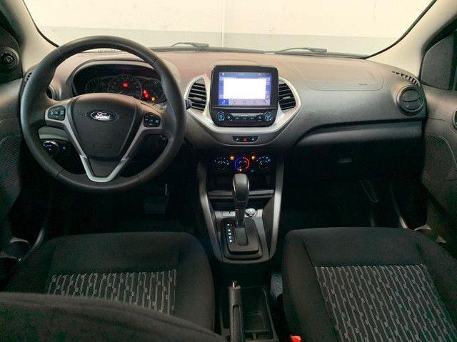 ka  sedan automático com 16.000 km modelo plus a pronta entrega  - Foto 8