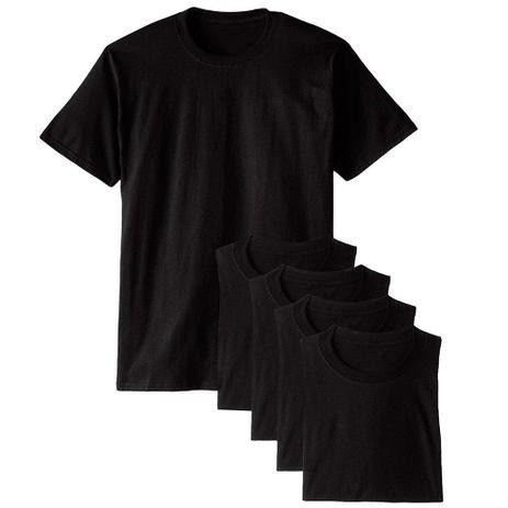 Kit com 5 Camiseta Masculina Básica Algodão Premium Colors - Part.B - Foto 2