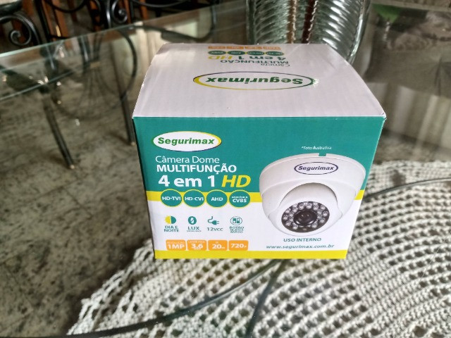 Câmera de Segurança Visão Noturna