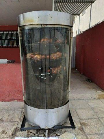 Máquina Giratória de Frango, Frangueira, Assador Rotativo - GASTROMAQ ARV-150