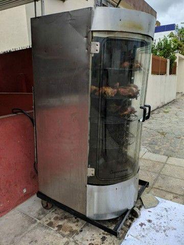 Máquina Giratória de Frango, Frangueira, Assador Rotativo - GASTROMAQ ARV-150 - Foto 3