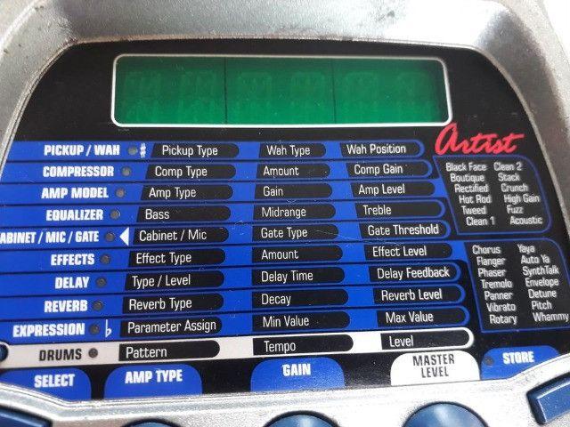Pedaleira RP 200 Digitech parcelo no cartão/ML avalio trocas - Foto 5