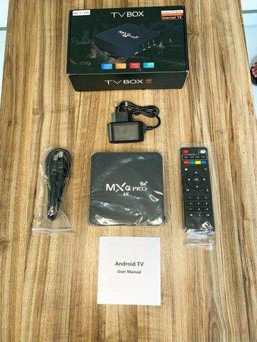Tv Box MXQ PRO 4k Produto Importado Tv Smart Mais Barata do Brasil Frete Grátis  - Foto 2
