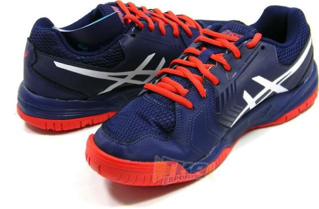 Tenis Asics GEL Dedicate 5 azl vrm tam  38 43 - Roupas e calçados ... 5b5086368378c