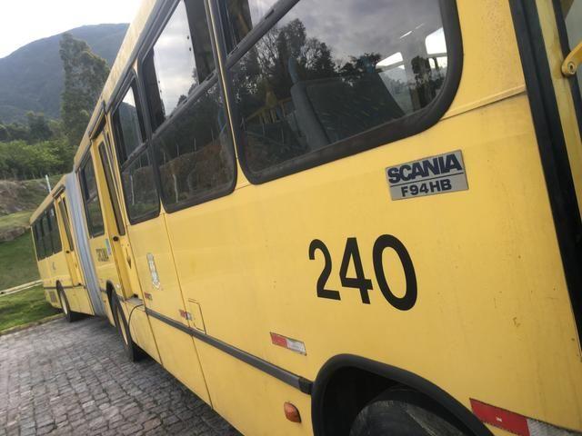 Vendo ônibus Scania 2000 bi-ônibus - Foto 5