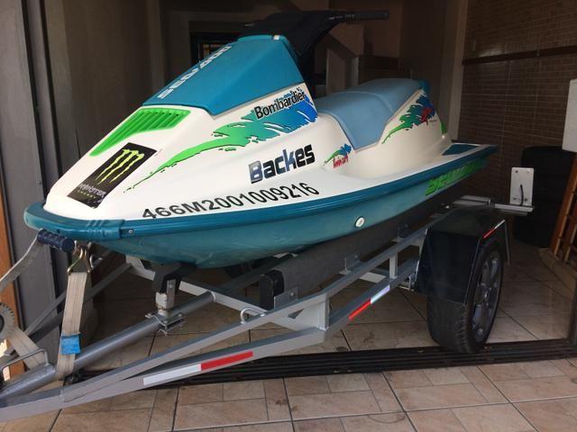 Jet ski Seadoo 580cc SPX 1993 - Foto 7