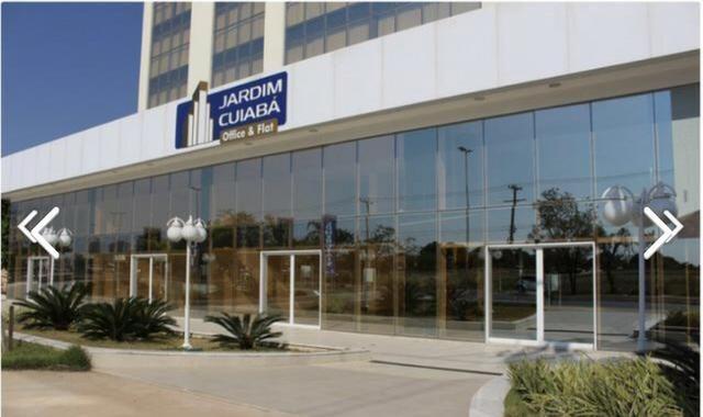 Sala comercial vitrine térrea com 126m2, Ed, Jardim Cuiabá Office, Av. Miguel Sutil - Foto 3
