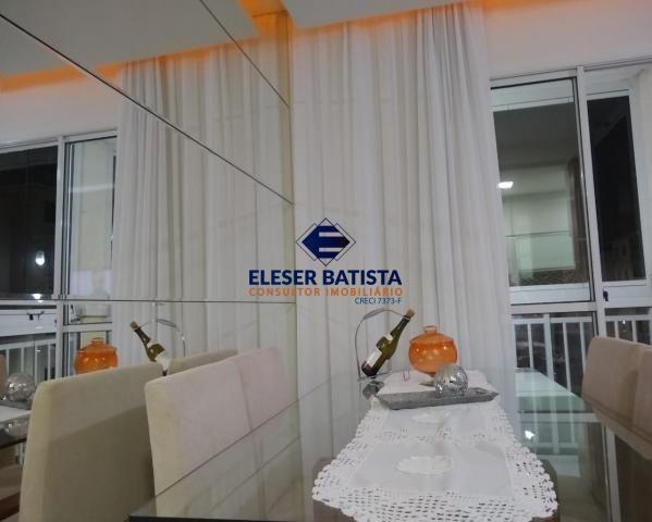 Apartamento à venda com 3 dormitórios em Residencial praças sauípe, Serra cod:AP00169 - Foto 8