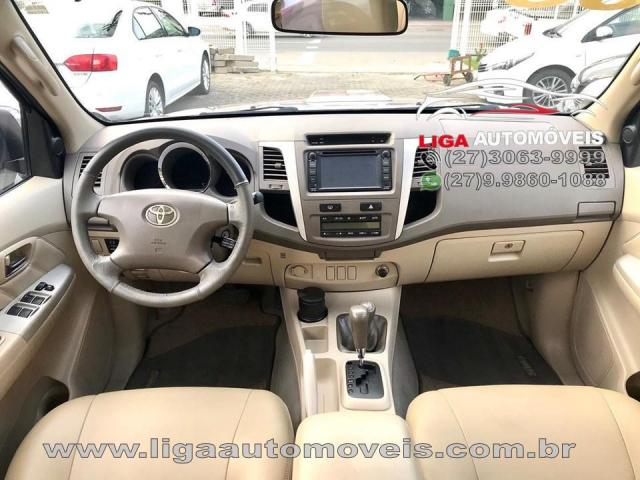 Toyota Hilux Sw4 Srv 4x43.0 Tdi Diesel Aut 2008 Oportunidade - Foto 4