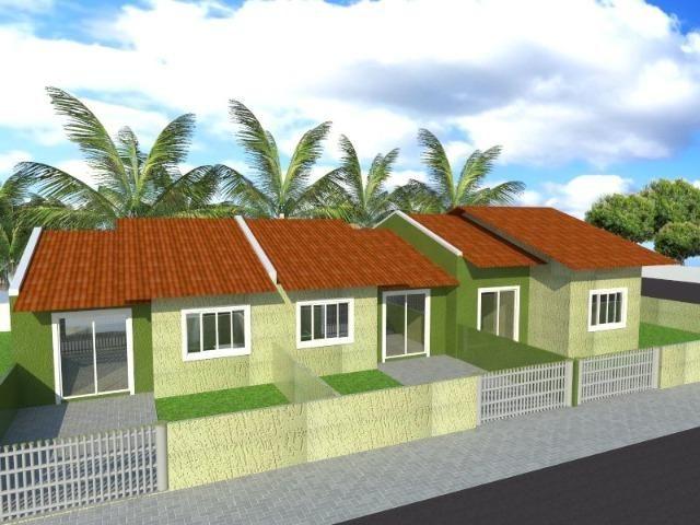 Casas novas Itapoá (balneário Palmeira) 100% documentadas prontas para morar