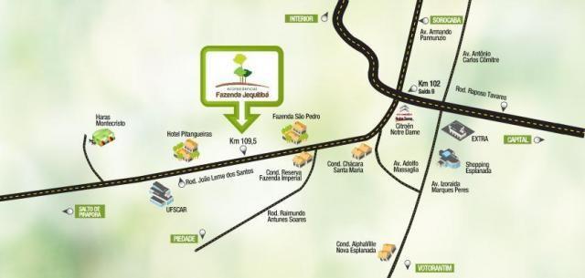 Terreno residencial à venda, Eco Residencial Fazenda Jequitibá, Sorocaba - TE2706. - Foto 3