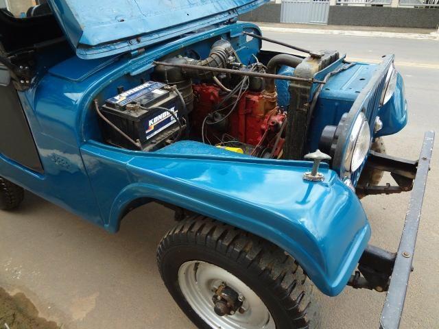 Jeep Willys 1957, há mais de 25 anos guardado duvido outro igual - Foto 5