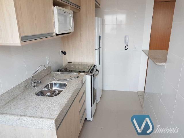 Apartamento mobiliado com 2 quartos no Cond. Lagoa Dourada - Jd. Acquaville, Londrina/PR - Foto 7