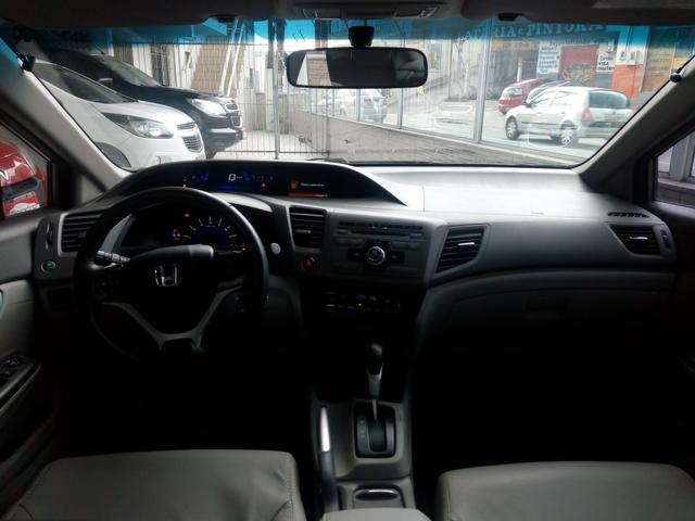 New Civic LXR automático 2014 bem cuidado - Foto 8