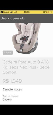 Cadeirinha de transporte de crianças para carro - Foto 5