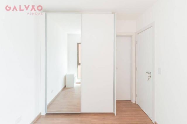 Apartamento com 1 dormitório à venda, 33 m² por R$ 238.156,90 - Centro - Curitiba/PR - Foto 10
