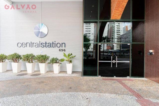 Apartamento com 1 dormitório à venda, 33 m² por R$ 238.156,90 - Centro - Curitiba/PR - Foto 15