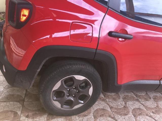 Jeep /renegade sport MT categoria partic de cor vermelha quitado,(15848) km - Foto 3