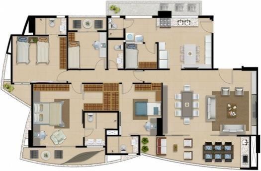 Apartamento 3 quarto(s) - Cocó - Foto 4