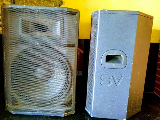 Caixa passiva alto falante de 15 - Foto 2