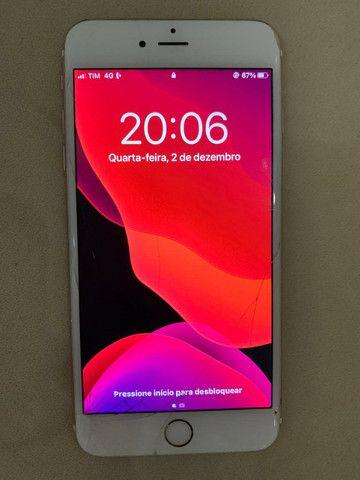IPhone 6S Plus 128GB trincado - Foto 2